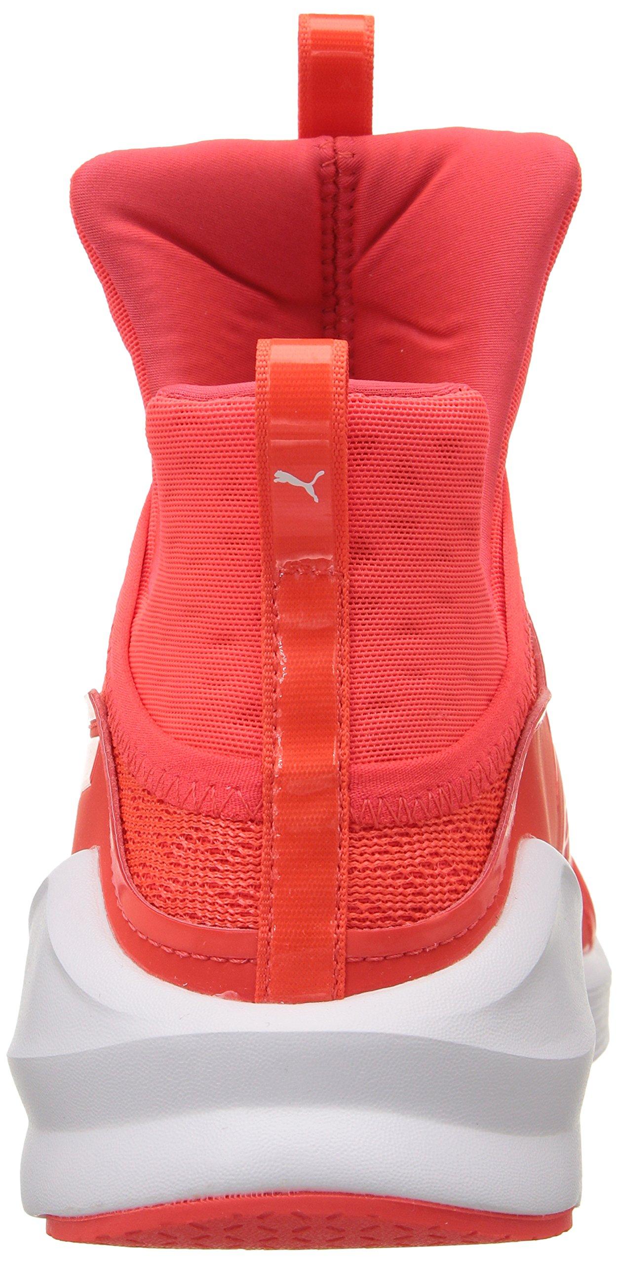 PUMA Women's Fierce Eng Mesh Cross-Trainer Shoe, Red Blast White, 5.5 M US by PUMA (Image #2)
