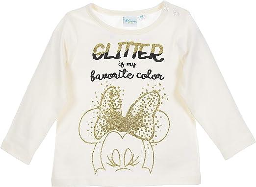 Minnie Mouse bebé-niñas Camiseta de Manga Larga: Amazon.es: Ropa y accesorios