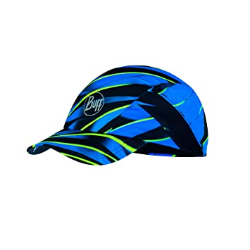Buff R-Focus Gorra Pro Run, Unisex Adulto, Blue, Talla Unica