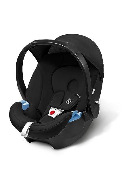 Cybex Aton - Silla de coche Grupo 0+ (0-13 kg, 0-18 meses), color negro