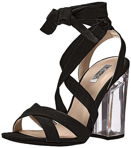 86ecd1ddc9b Qupid Women s Kloude-05 Dress Sandal Black 6 ...