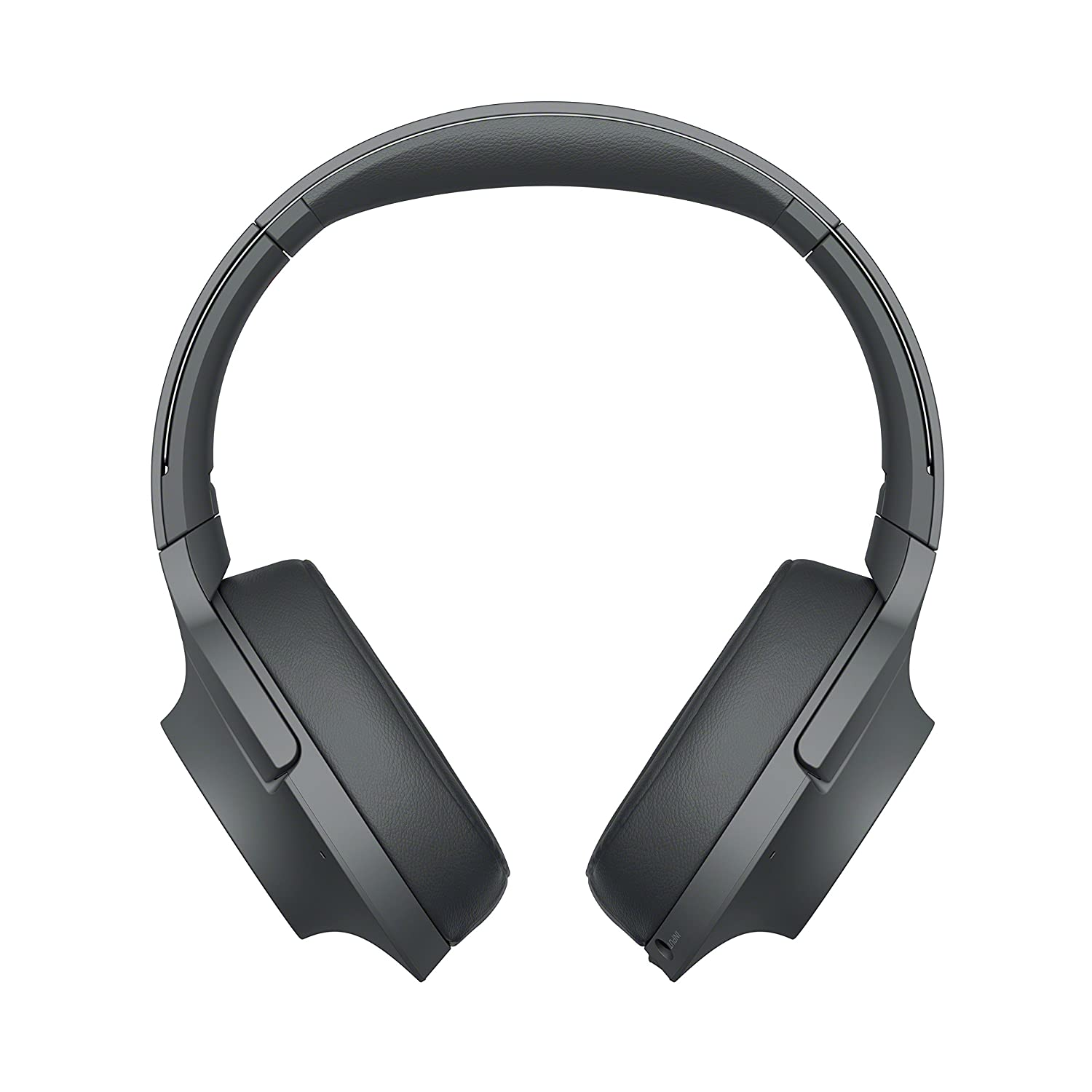 Sony – H900N Hi-Res Noise Cancelling Wireless Headphone Grayish Black WHH900N B