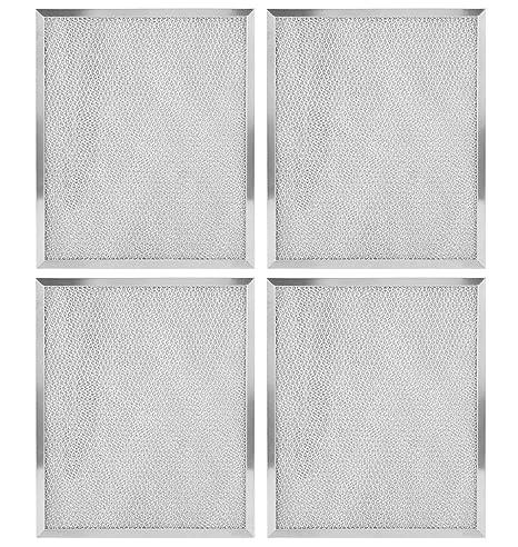 2-Pack Filters for Broan Nutone Model 99010299 Aluminum Mesh Range Hood Filter
