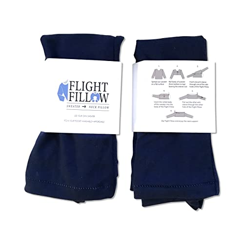 The Navy Blue - Reinvented Travel Pillow travel product recommended by Georgia McKinney on Lifney.