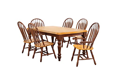 Sunset Trading Oak Selections Dining Room Set