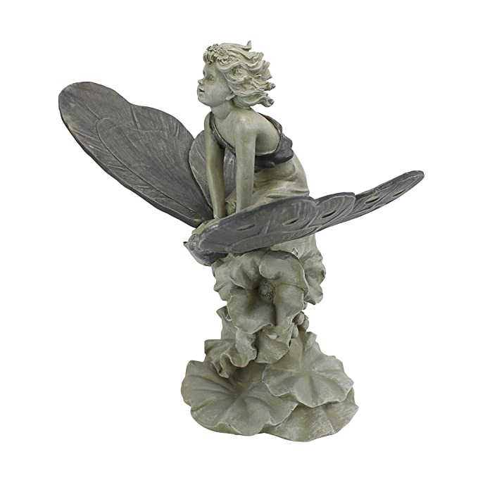 Amazon.com : Design Toscano A Fairyu0027s Wondrous Butterfly Ride Statue : Outdoor  Statues : Garden U0026 Outdoor