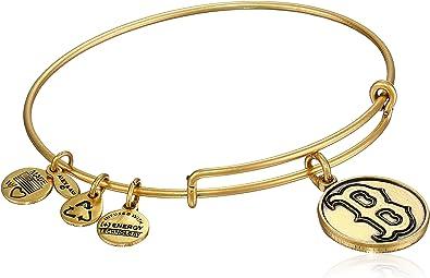 7.75 Alex and Ani Major League Baseball Sports Logo Expandable Wire Bangle Bracelet