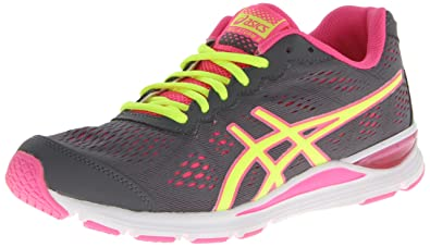 Comfortable Feel Women Asics Gel Storm Storm Flash Yellow Pink Loved Around