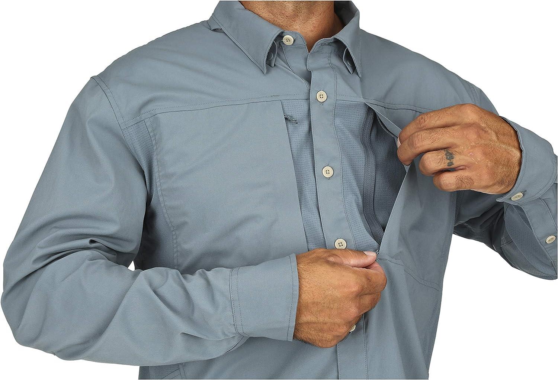Simms Mens Albie Long Sleeve Shirt