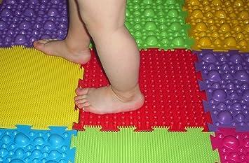 Amazon.com: Conjunto de masaje ortopédico esteras para niños ...