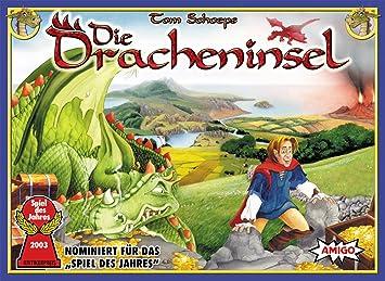 Amigo Spiele 3320 Die Dracheninsel - Juego de Mesa [Importado de Alemania]: Schoeps, Tom: Amazon.es: Juguetes y juegos