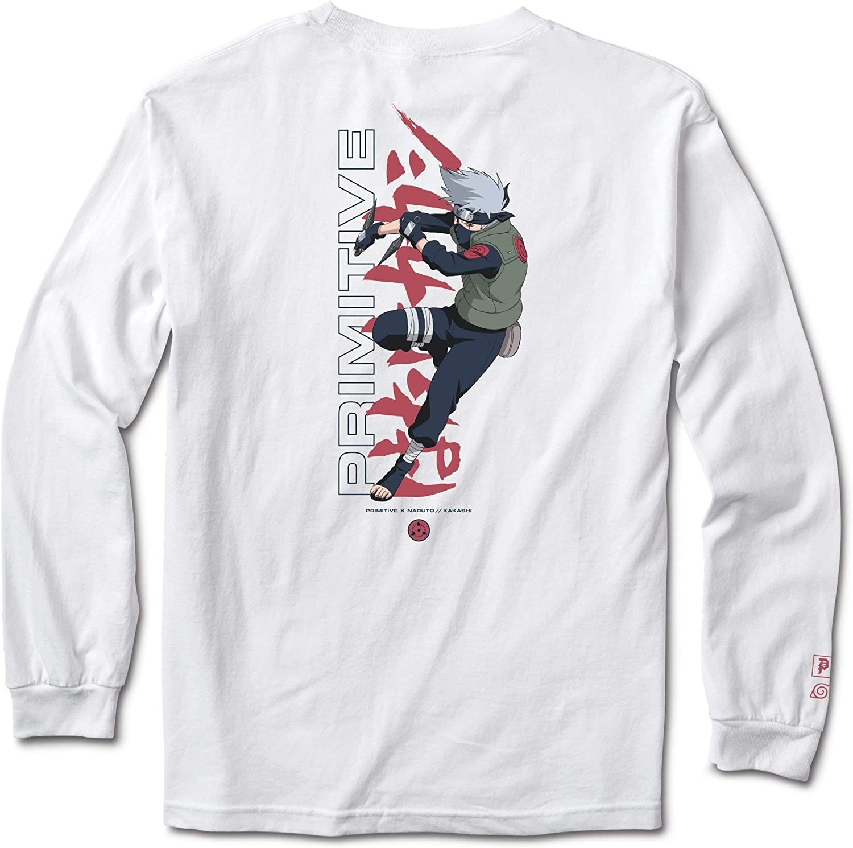 PRIMITIVE youth long sleeve T-Shirt SMALL black  SZ