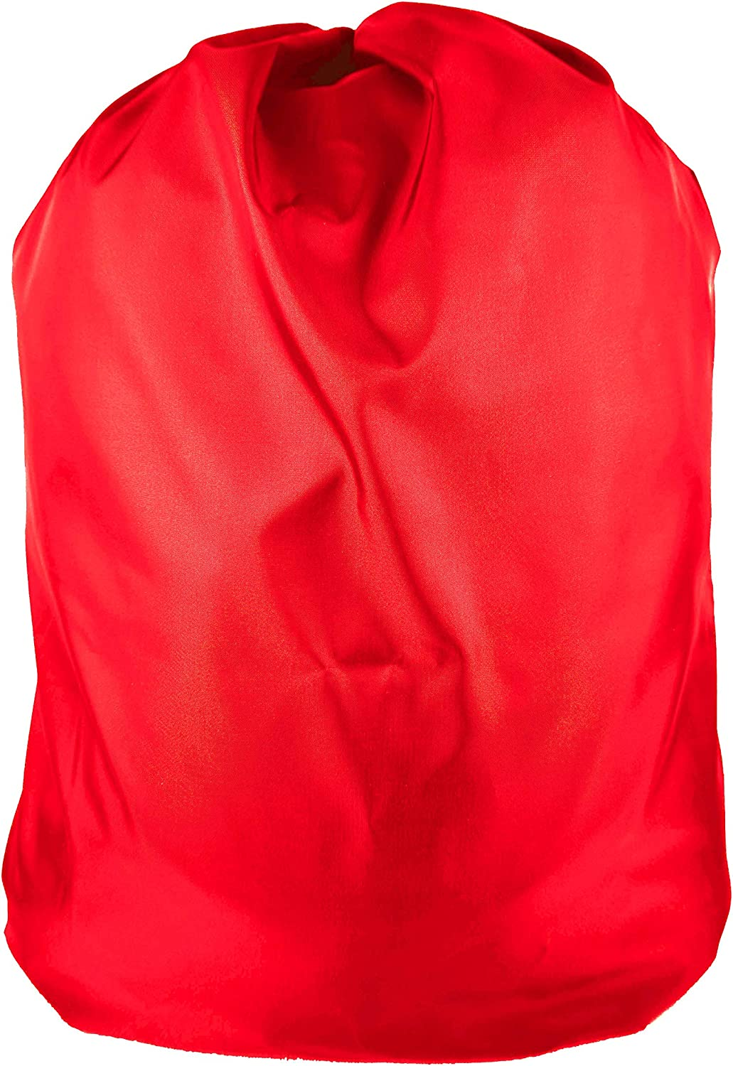 """Heavy Duty Nylon Laundry Storage Bags with Drawstring, Durable, Machine Washable 30' x 40"""" Choose The Color (Red)"""