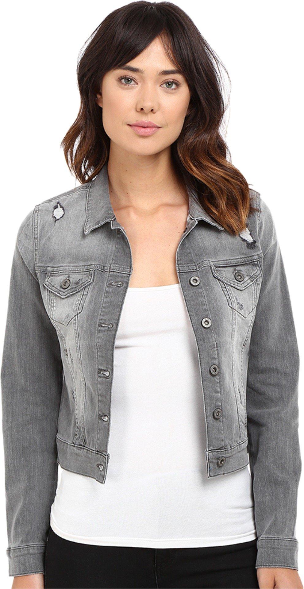 Mavi Jeans Women's Samantha Jacket Grey Vintage MD