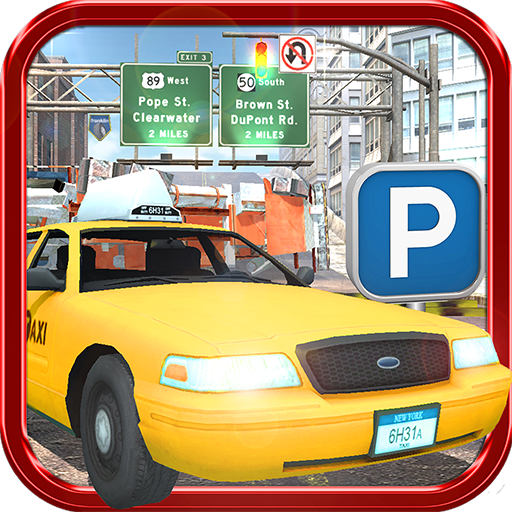 TAXI PARKING SIMULATOR 3D – REAL UPTOWN CAB DRIVING EXPERIENCE
