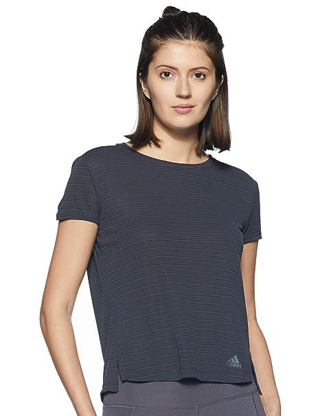 T shirt Femme adidas Freelift Chill Carbone