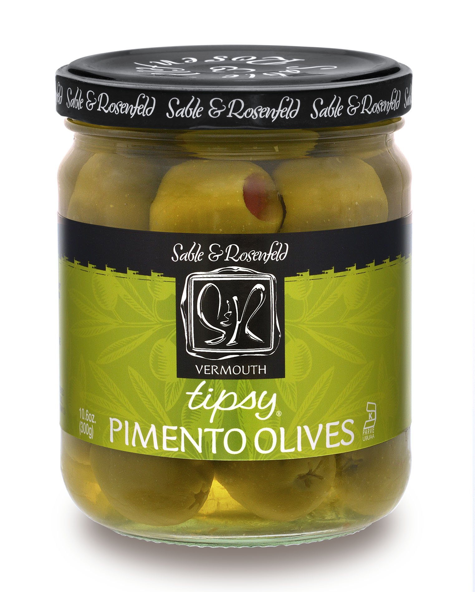 Sable and Rosenfeld Tipsy Olives 10.6 Ounce, 10.6 Ounce (Pack of 6)