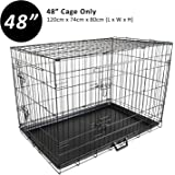 Paw Mate Dog Cage with Removable Tray (PET-WC48)
