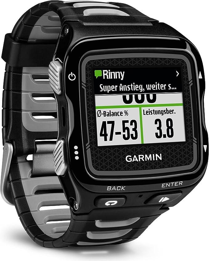 Garmin Forerunner 920XT HRM - Reloj GPS con pulsómetro, Color Azul ...