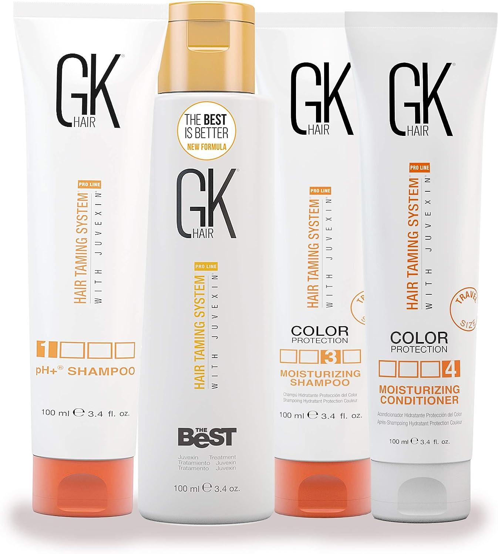 GKhair The Best Hair Smoothing Keratin Relaxer Straightening Treatment Kit 100ml