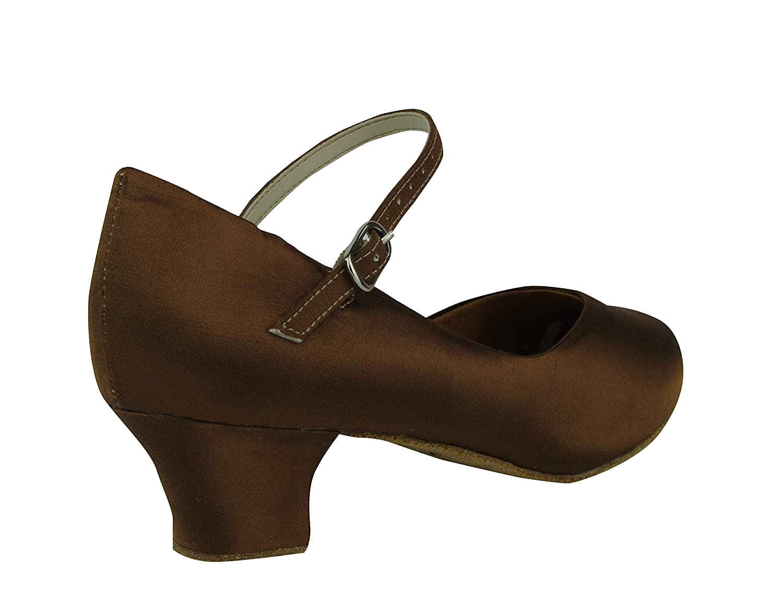 So Danca CH791C Latein Salsa Salsa Salsa Rumba Tango Satin Tanz Schuhe mit Chromledersohle, Weite M, Absatz 4 cm B0721Q43KT Tanzschuhe Vielfältiges neues Design d4c471