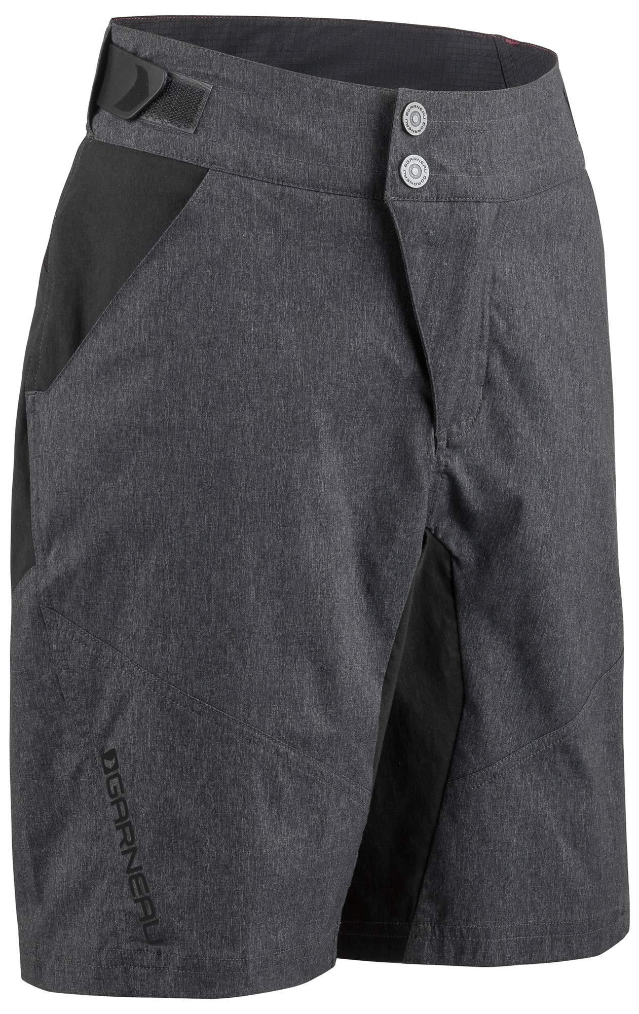 Louis Garneau Kids Dirt Bike Shorts, Black/Gray, Small by Louis Garneau