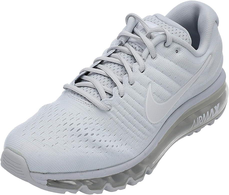 Búsqueda sinsonte Limpiar el piso  Nike Air MAX 2017 Se, Zapatillas de Running para Hombre, Gris  (Hellgrau/Weiß Hellgrau/Weiß), 49.5 EU: Amazon.es: Zapatos y complementos