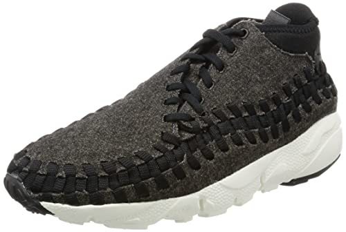 8849609841b3 Nike Mens Air Footscape Woven Chukka SE Black Ivory Fabric Size 7. 5  Buy  Online at Low Prices in India - Amazon.in