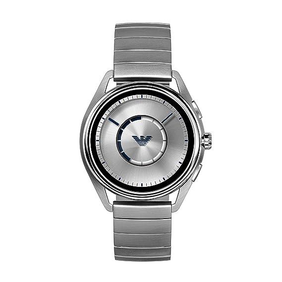 Emporio Armani Reloj Hombre de Digital con Correa en Acero Inoxidable ART5006: Amazon.es: Relojes