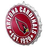 Arizona Cardinals NFL Bottle Cap Wall Sign