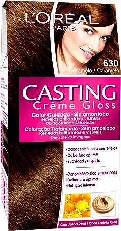 LOreal Paris Casting Creme Gloss Baño de Color 630 Caramelo