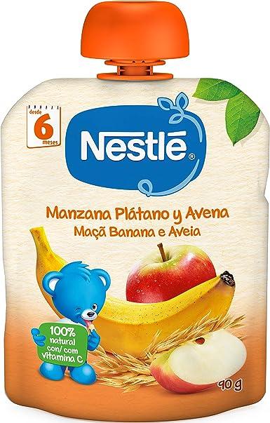 Nestlé Naturnes - Bolsita de Pera, Frambuesa y Cereales - A Partir ...