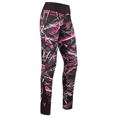 b2fa4d84fae392 Amazon.com : Huntworth Women's Camo Simple Leggings : Sports & Outdoors