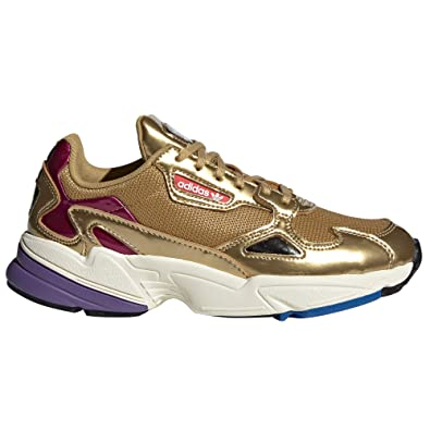check out ad35c 037cf Adidas Falcon W, Chaussures de Fitness Femme Rose. (36 EU, Gold met