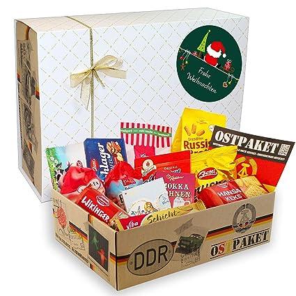 DDR Spezialitätenbox Weihnachten DDR Geschenkbox mit DDR Ostprodukte