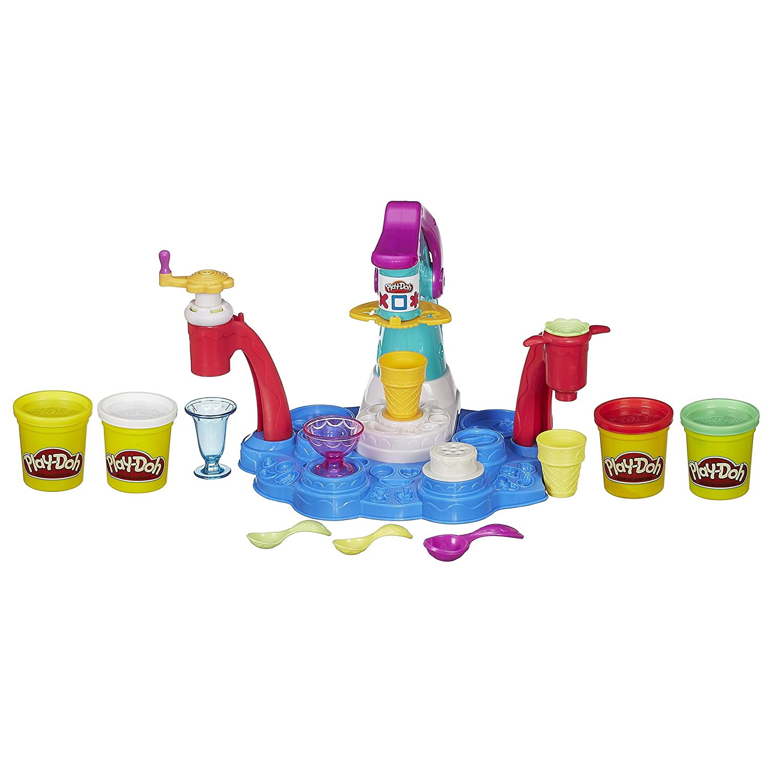 Play-Doh Magic Swirl Ice Cream Shoppe by Hasbro: Amazon.es: Juguetes y juegos