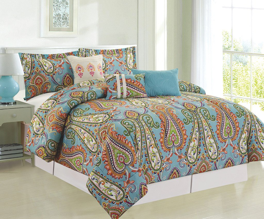 6-Piece Mystic Comforter Set King