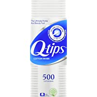 4-Pack Q-tips Cotton Swabs 500 Count