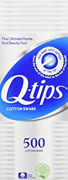 4-Pack Q-tips Cotton Swabs, 500 Count