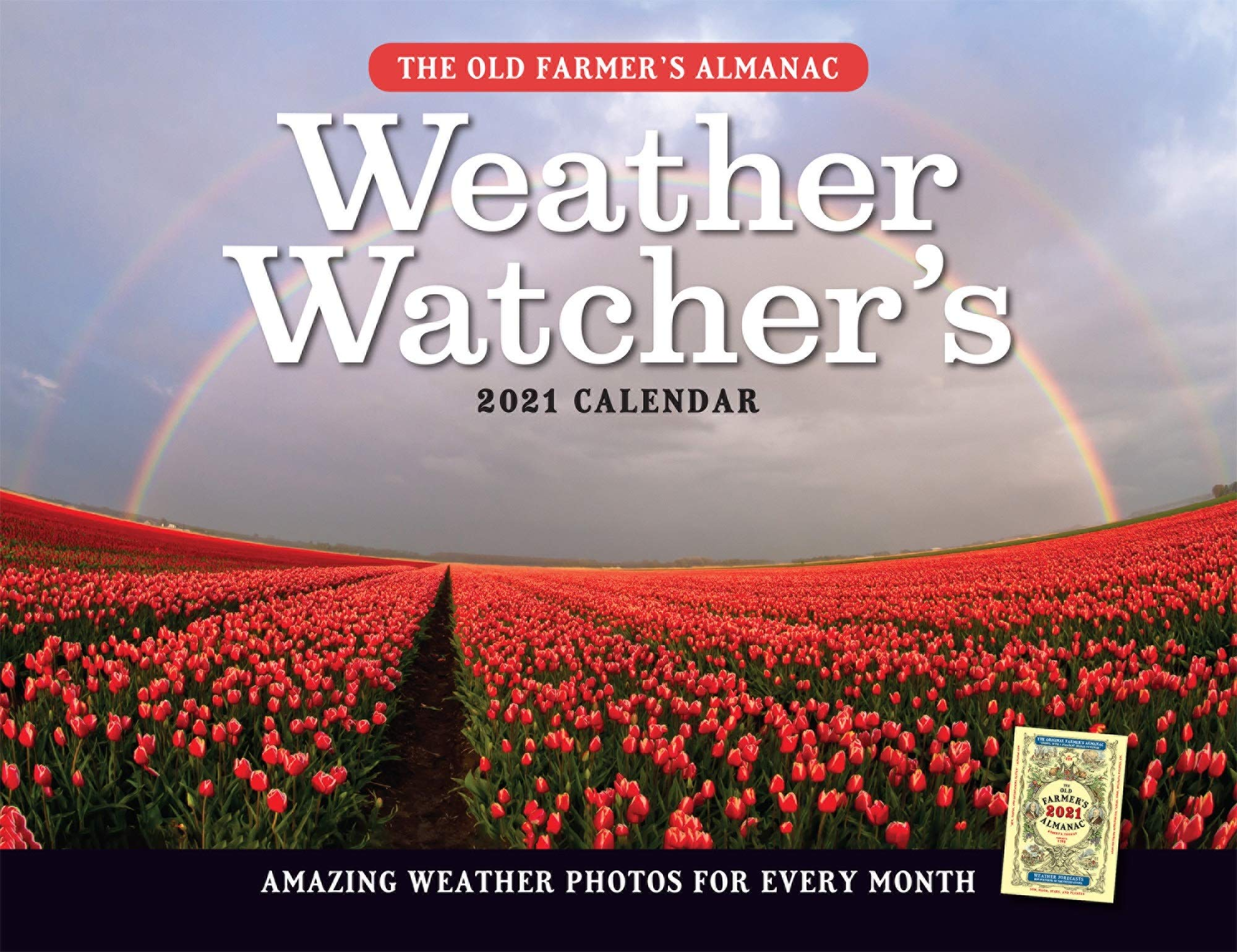 Farmers Almanac Calendar 2021 The 2021 Old Farmer's Almanac Weather Watcher's Calendar: Old