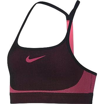 Nike G NK Bra Seamless Soutien-Gorge de Sport Fille  Amazon.fr ... 1191e059fbe