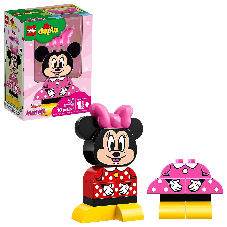 Amazoncom Lego Duplo Disney Juniors My First Minnie Build 10897