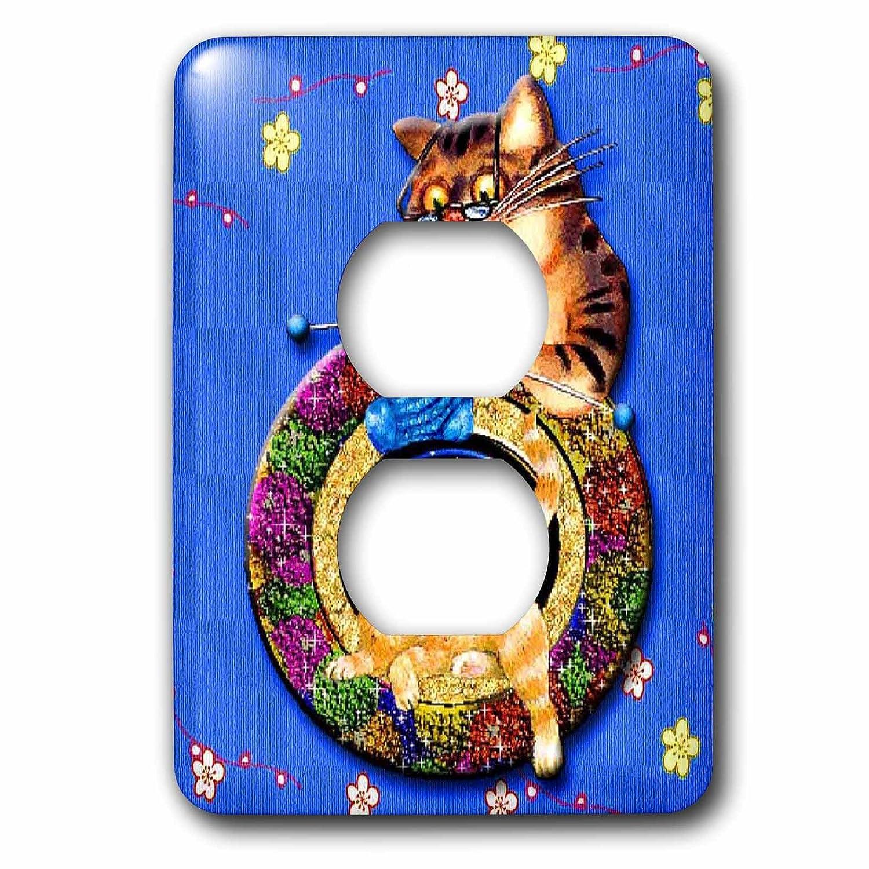 3drose LSP_ 128888__ B00DGD9OJ6 6おばあちゃん猫ニットA Cat Rug Simply Cat Adorable 2プラグコンセントカバー B00DGD9OJ6, 和田山町:426491e9 --- number-directory.top