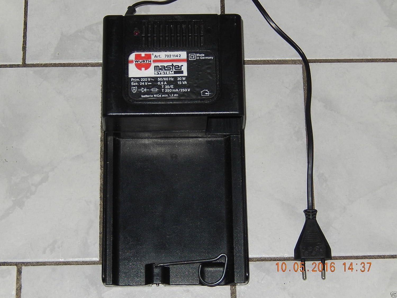 Würth rápido cargador de batería, Master Sistema NR: 7021142 ...