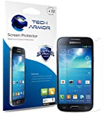 Tech Armor HD Clear Screen Protector for Samsung Galaxy S4 Mini (Pack of 3)