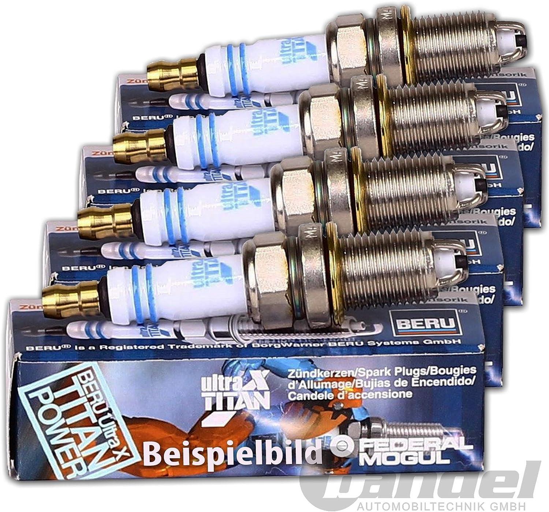 4x Zündkerze Original Beru Ultra X Titan Uxt1 Elektronik