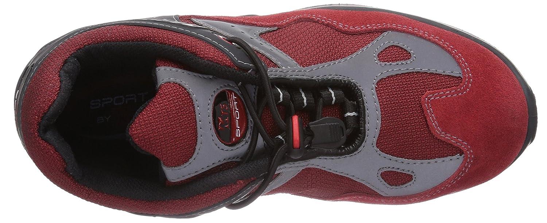MTS M-Gecko Flash S1P Rot Flex 12111 Unisex-Erwachsene Sicherheitsschuhe Rot S1P (Rot) a0baa4