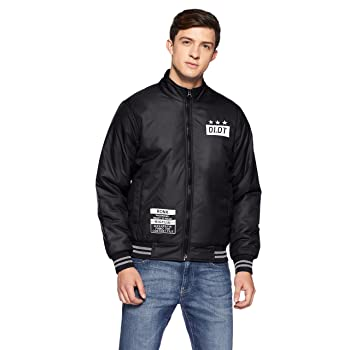 Qube By Fort Collins Mens Bomber Jacket