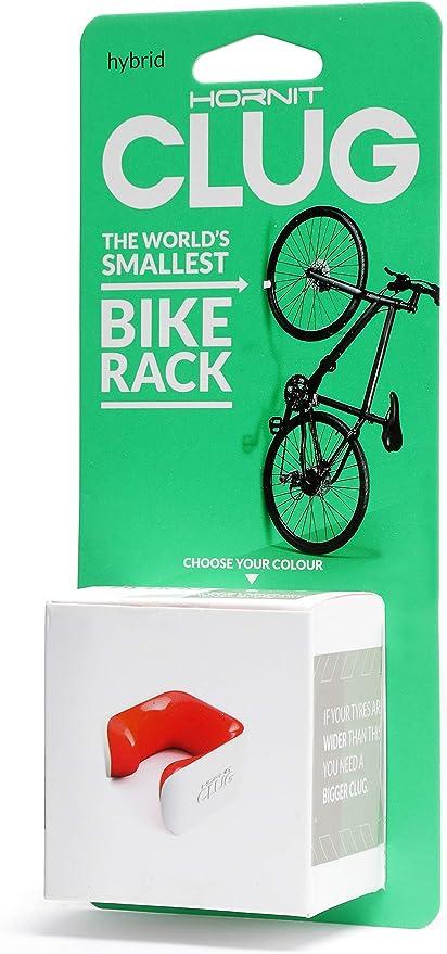 CLUG Bike Clip Indoor-Outdoor Roadie Bicycle Rack Storage System Black 23-32mm
