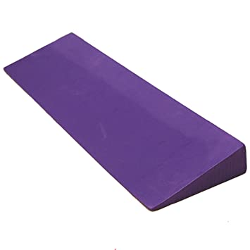Yoga Direct - Cuña de Espuma para Yoga, Color Morado: Amazon ...